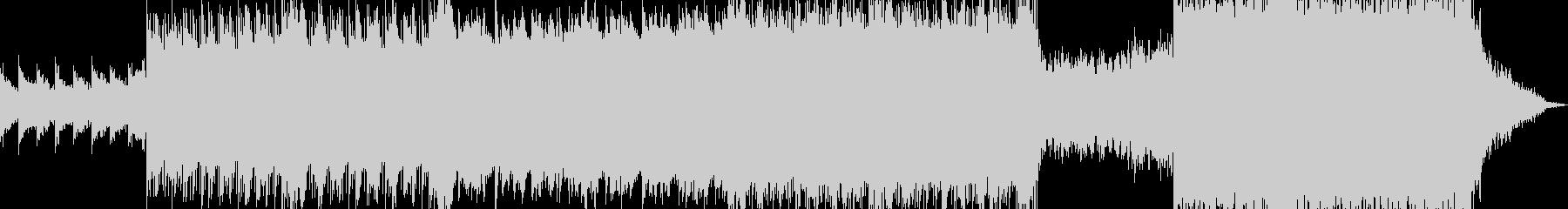 現代的 交響曲 ダブステップ 実験...の未再生の波形