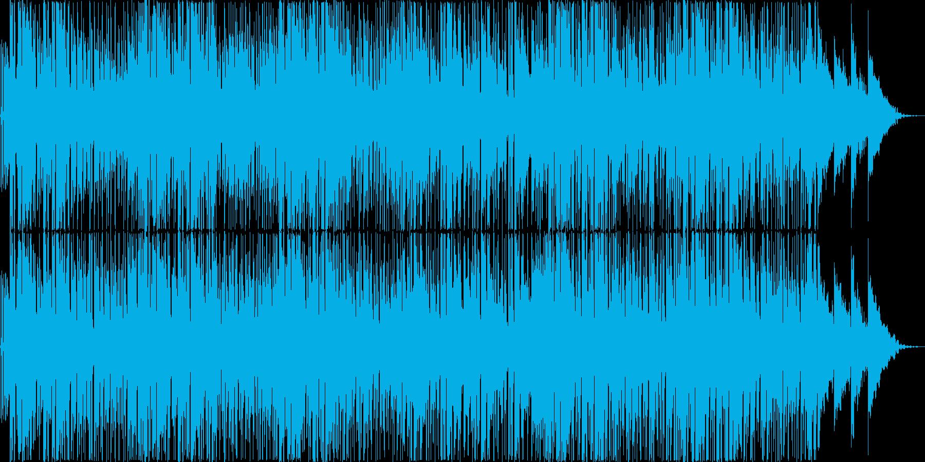 クールでファンキーなジャズトラックの再生済みの波形