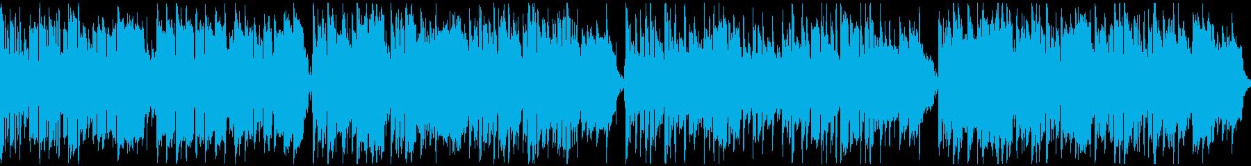 子供の冒険っぽいリコーダー曲 ※ループ版の再生済みの波形