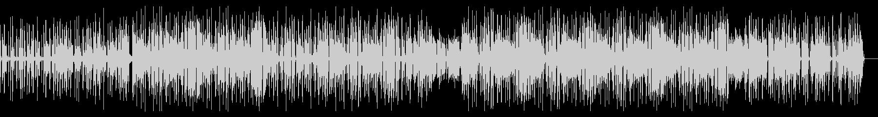 渋い ピアノ サックス ヒップホップの未再生の波形