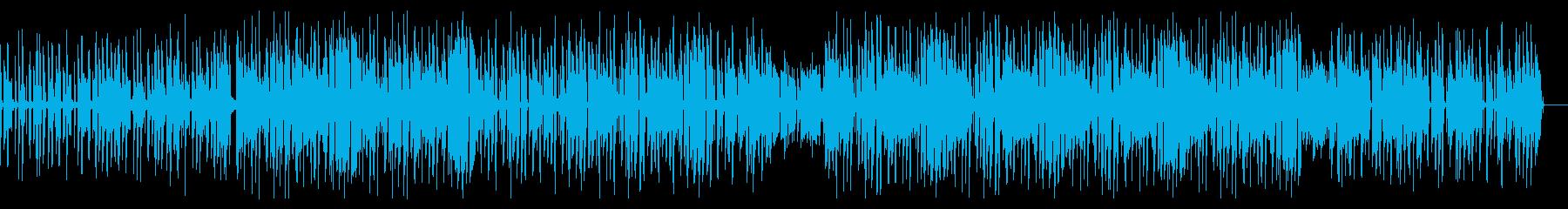 渋い ピアノ サックス ヒップホップの再生済みの波形