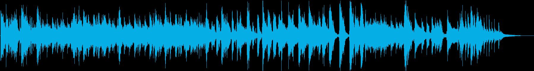鮎をテーマにした楽曲の再生済みの波形
