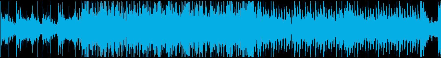 不穏な雰囲気を感じるBGM 戦闘 ループの再生済みの波形