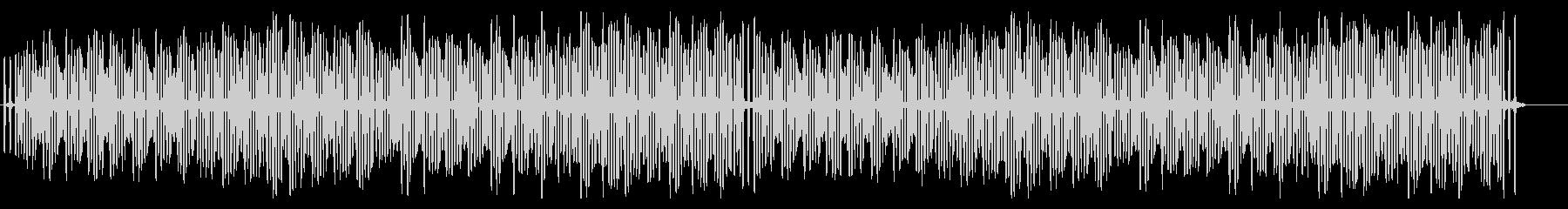コミカルで軽快・明るく楽しいシンプルな曲の未再生の波形