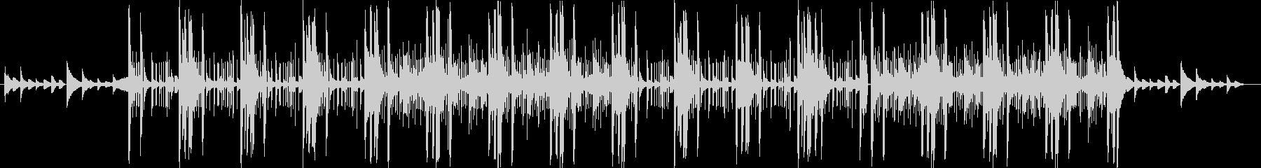 ダークな雰囲気のあるピアノ系のR&Bの未再生の波形