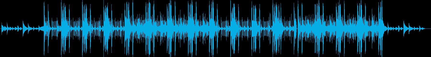 ダークな雰囲気のあるピアノ系のR&Bの再生済みの波形