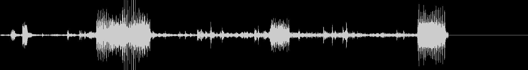 インディカー、ピットクルードリルタ...の未再生の波形