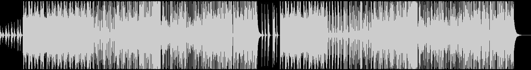 ストリングスでダークなFuturePopの未再生の波形