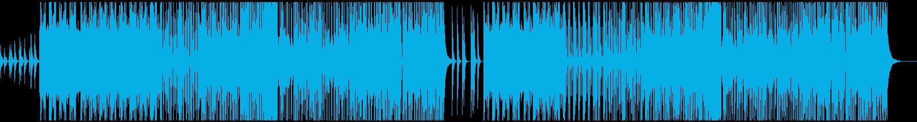 ストリングスでダークなFuturePopの再生済みの波形