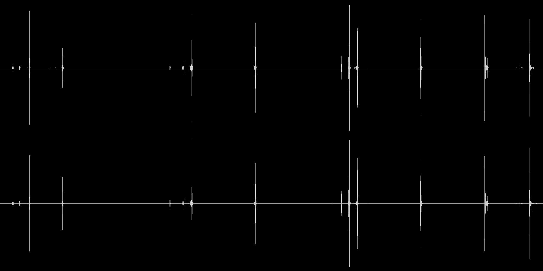 接続するもの、ライト、5バージョン...の未再生の波形