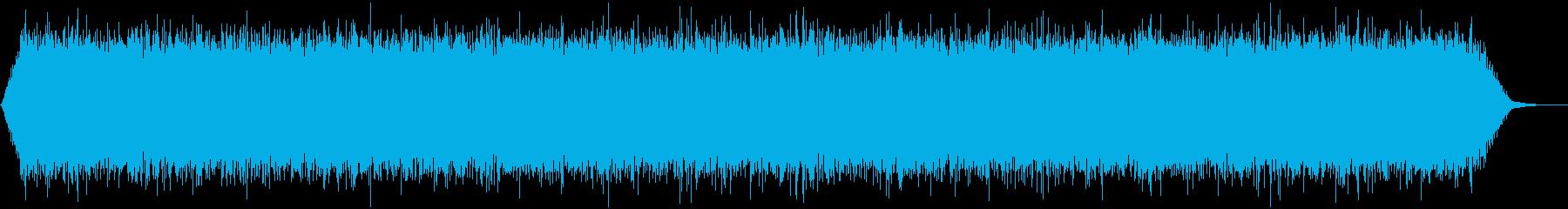 【アンビエント】ドローン_40 実験音の再生済みの波形