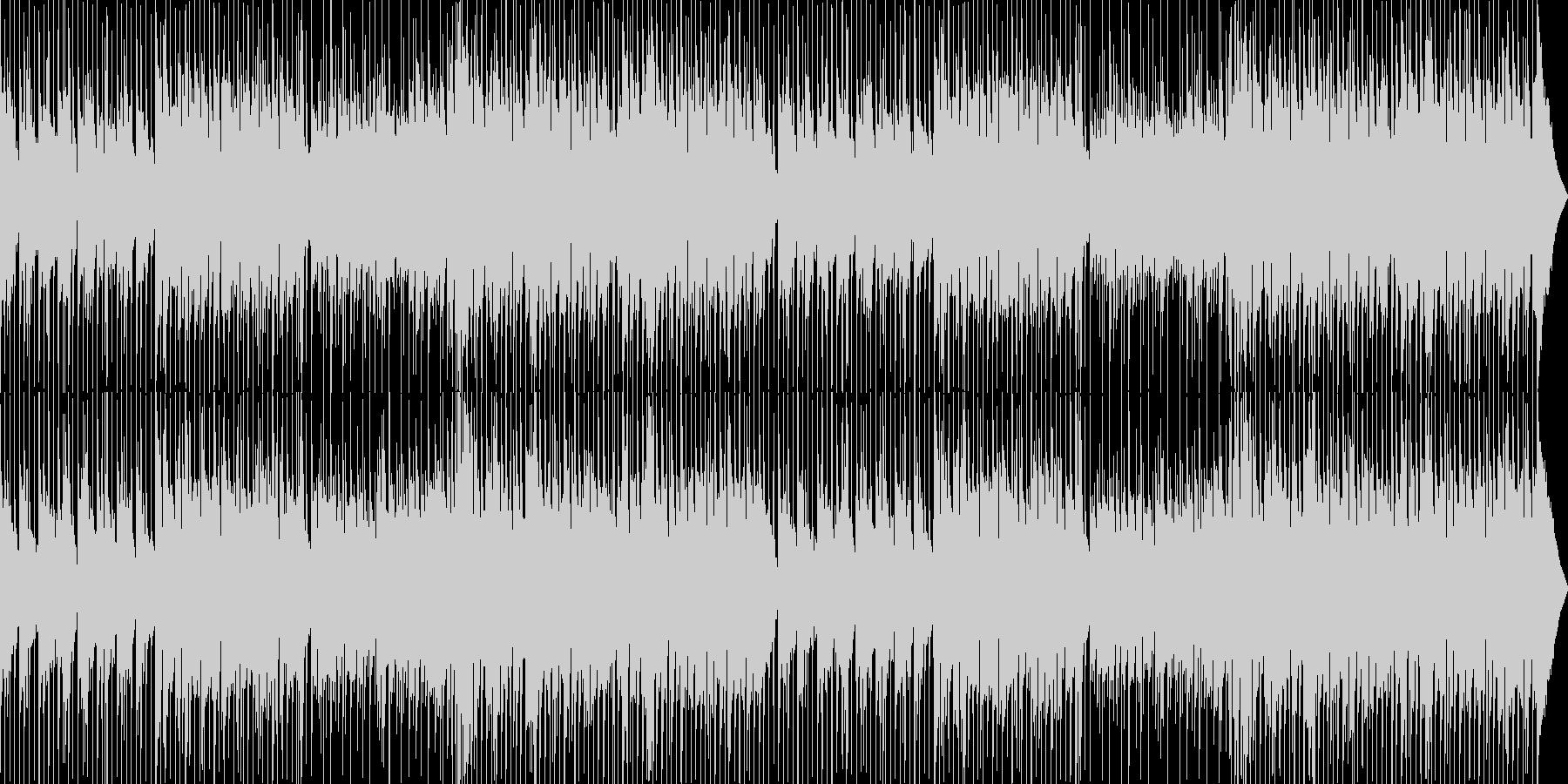 刺激的で楽観的なムードを持つポジテ...の未再生の波形
