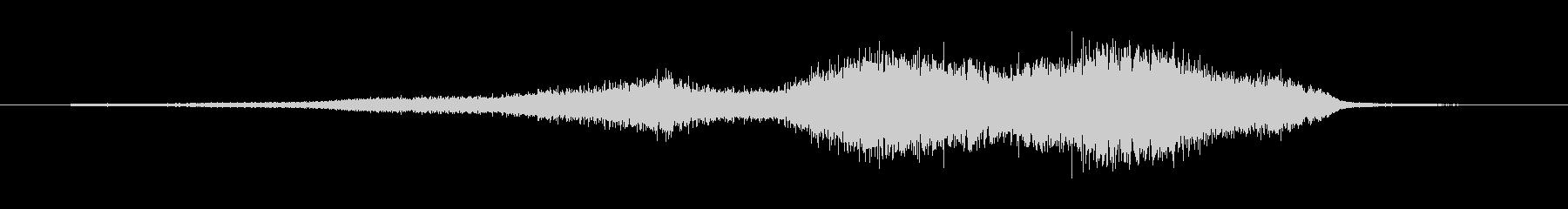 ヘビーフーシの未再生の波形