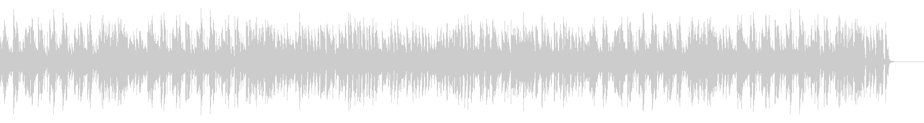 A stylish and mellow royal road jazz piano's unreproduced waveform