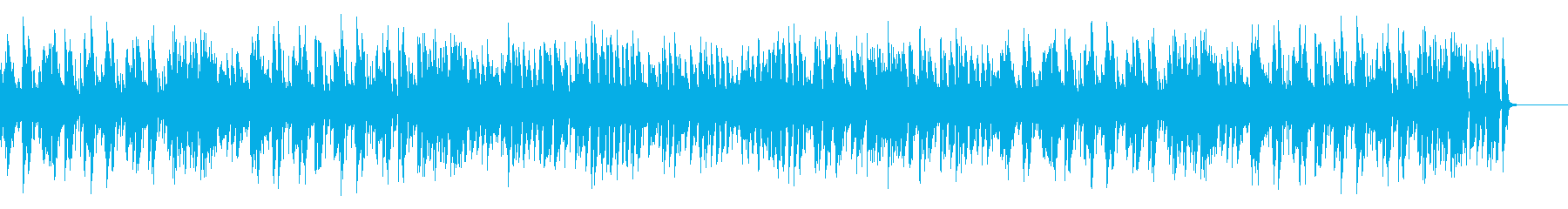 A stylish and mellow royal road jazz piano's reproduced waveform