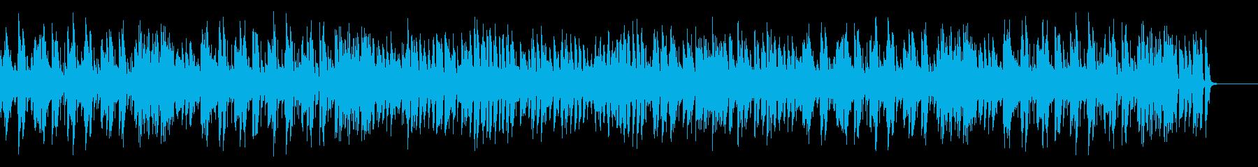 お洒落でノリのいい王道ジャズピアノの再生済みの波形