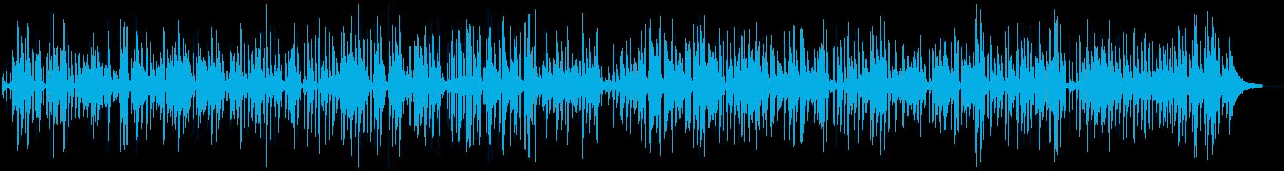 ソフトなアコースティックピアノジャズの再生済みの波形