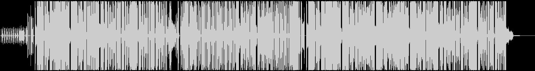 ピコピコ系ゲームOP風の未再生の波形