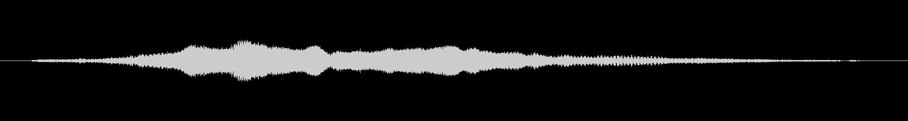 ワープ 建物の短い移動01の未再生の波形