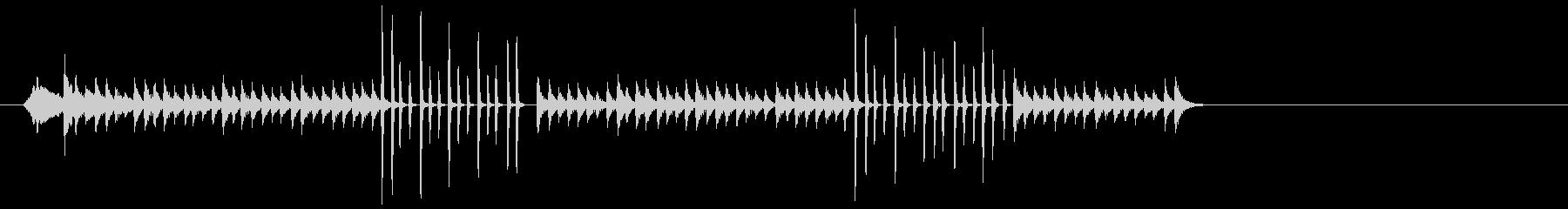 サイレンホイッスル、ログドラム、ブ...の未再生の波形
