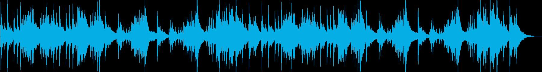 穏やか・安らぎ・癒しのハープソロBGM1の再生済みの波形