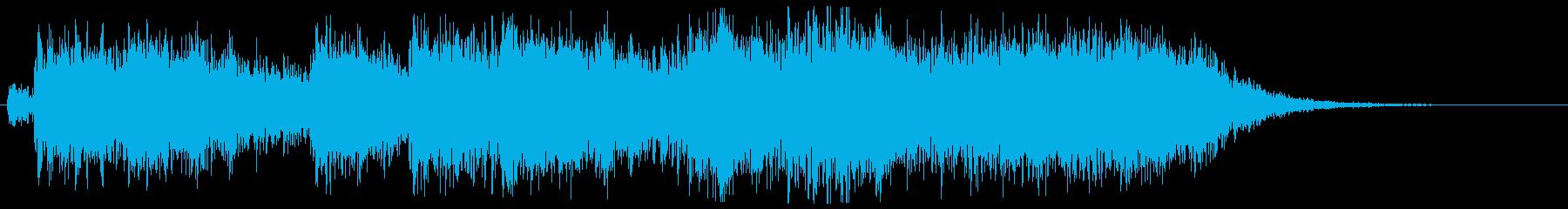 迫り来る危機感があるオーケストラ02の再生済みの波形