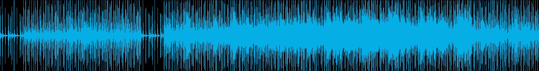 砂漠を感じさせるダンジョンBGMの再生済みの波形