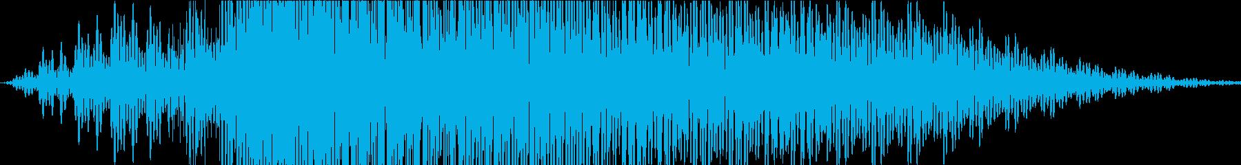 ロボットボイス2の再生済みの波形