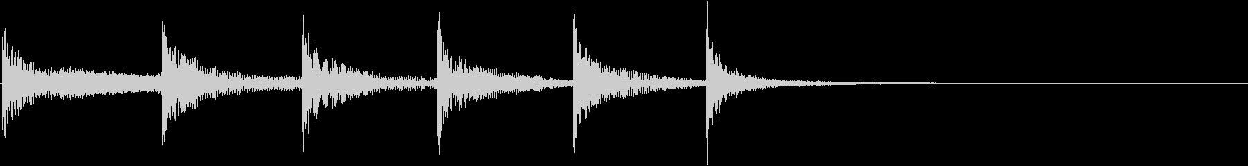 ティンパニ:ライジングボーイズスロ...の未再生の波形