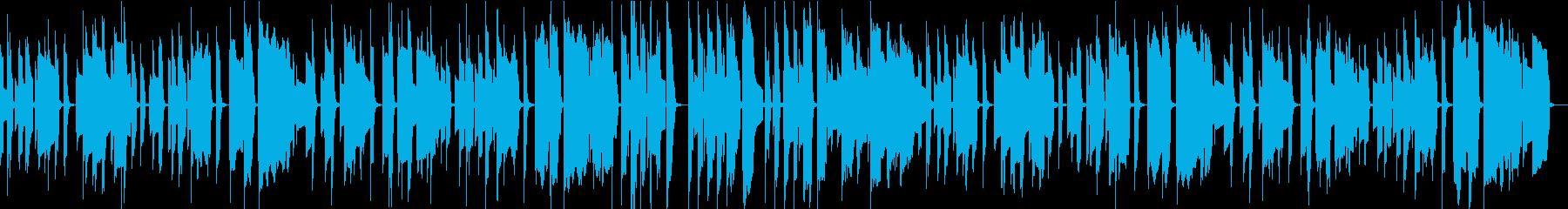 爽快、明るく可愛らしく弾むエレピ曲です。の再生済みの波形