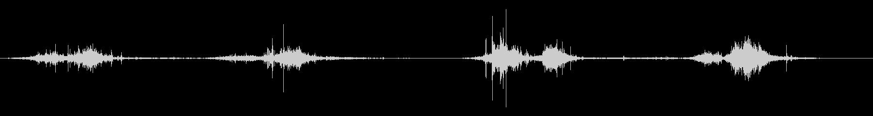ウェット・グーピー・スロッシング、...の未再生の波形