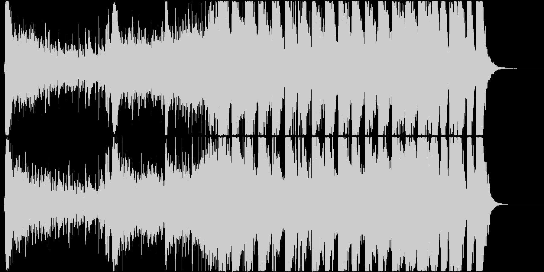 派手なEDM系登場系ファンキーなジングルの未再生の波形