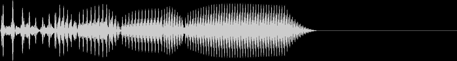 失敗 かわいい系 戻り UIの未再生の波形