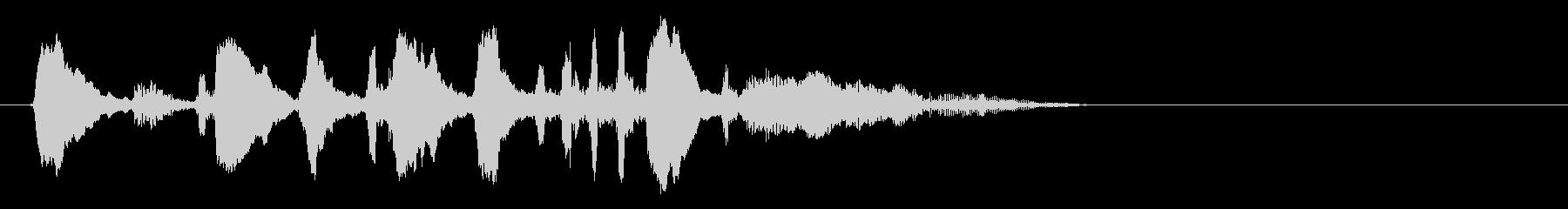 フレンチホーンビューグルコール;ラ...の未再生の波形