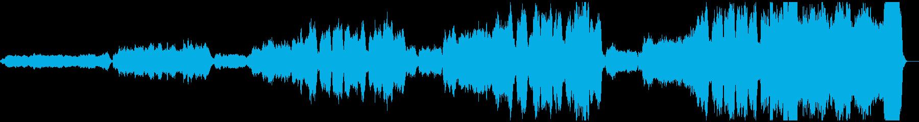 パイプオルガンで弾くホルストのジュピターの再生済みの波形