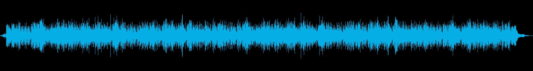 涼やかなギターとピアノのBGMの再生済みの波形