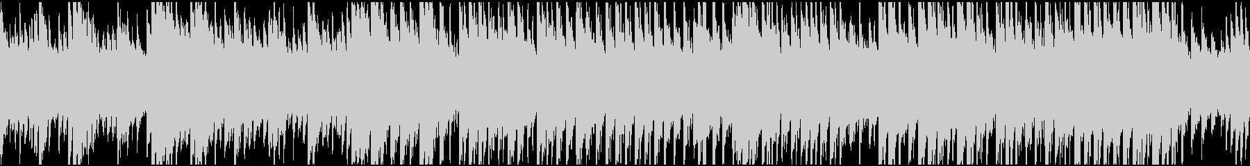 製品紹介・CM 明るく壮大なピアノソロの未再生の波形
