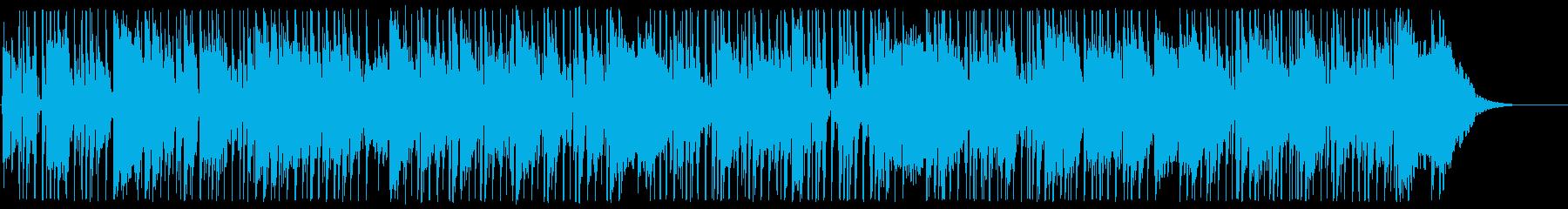 明るい雰囲気のR&Bインストゥルメ...の再生済みの波形