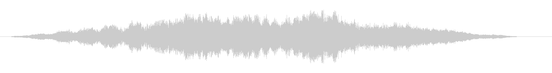素材 フェージングドローンベル03の未再生の波形