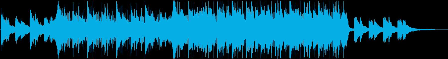 決断の時を表現したHip-Hop曲ハーフの再生済みの波形