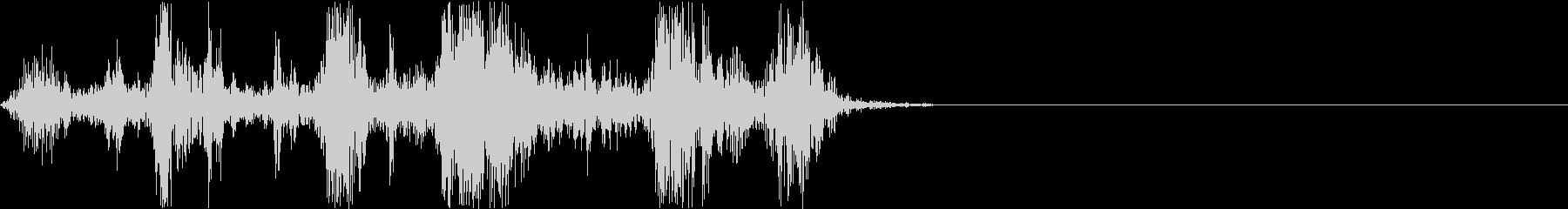 Camera シャッター ドライ音 3の未再生の波形