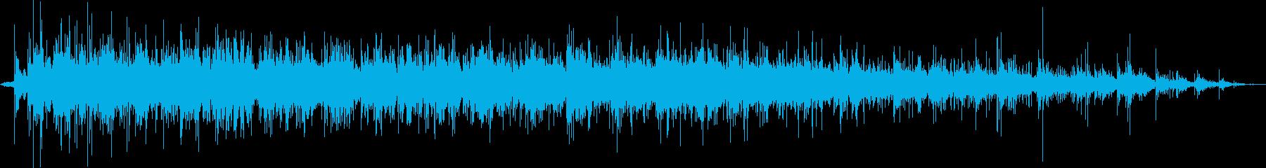 小さな屋内の群衆:拍手拍手と拍手の再生済みの波形