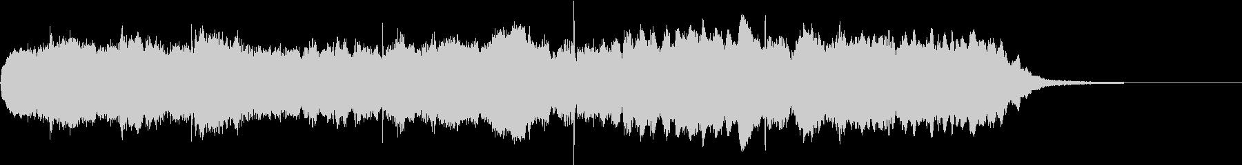 15秒から20秒の動画用BGM~和風~の未再生の波形
