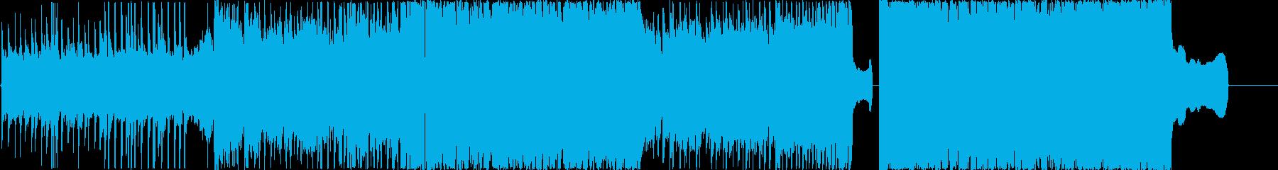 何かが始まりそうなポップロックの再生済みの波形