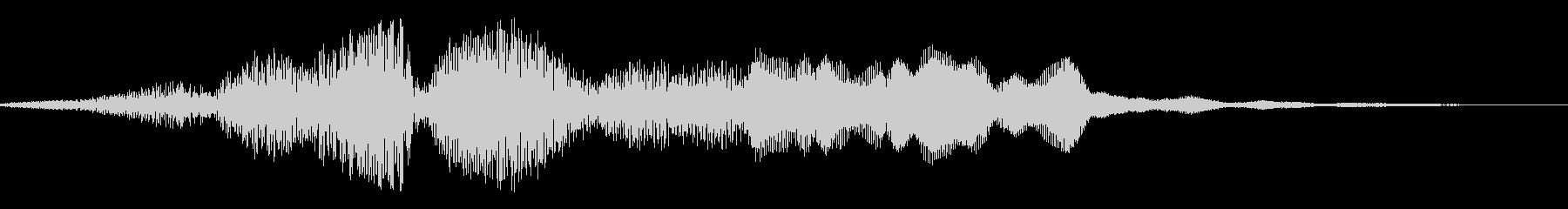 ギギィ~…軋む音 3の未再生の波形