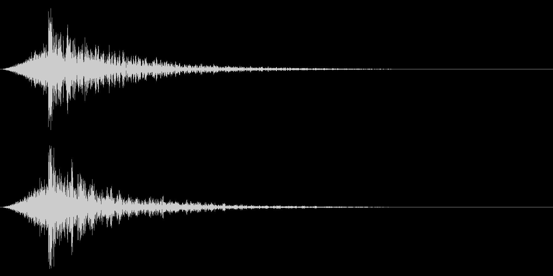 シュードーン-20-4(インパクト音)の未再生の波形