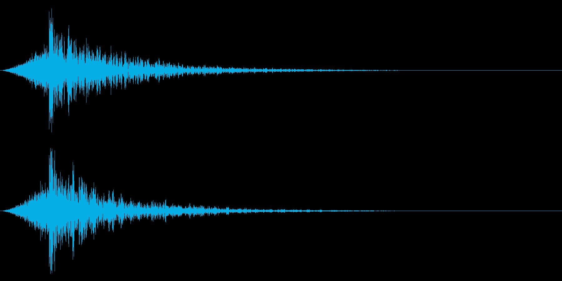 シュードーン-20-4(インパクト音)の再生済みの波形