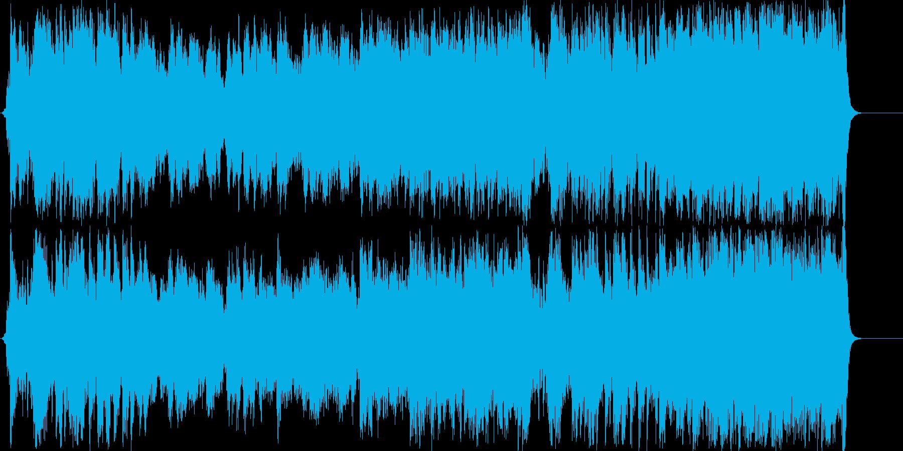 勝利曲(ゲーム系)壮大なオーケストラ系の再生済みの波形