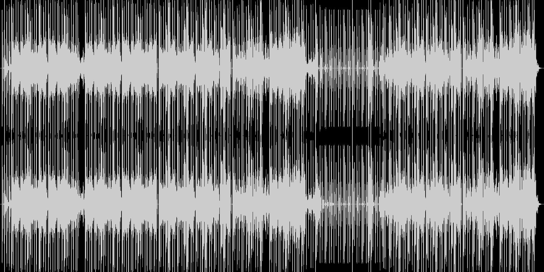 尺八と童謡が特徴的な怪しげなヒップホップの未再生の波形