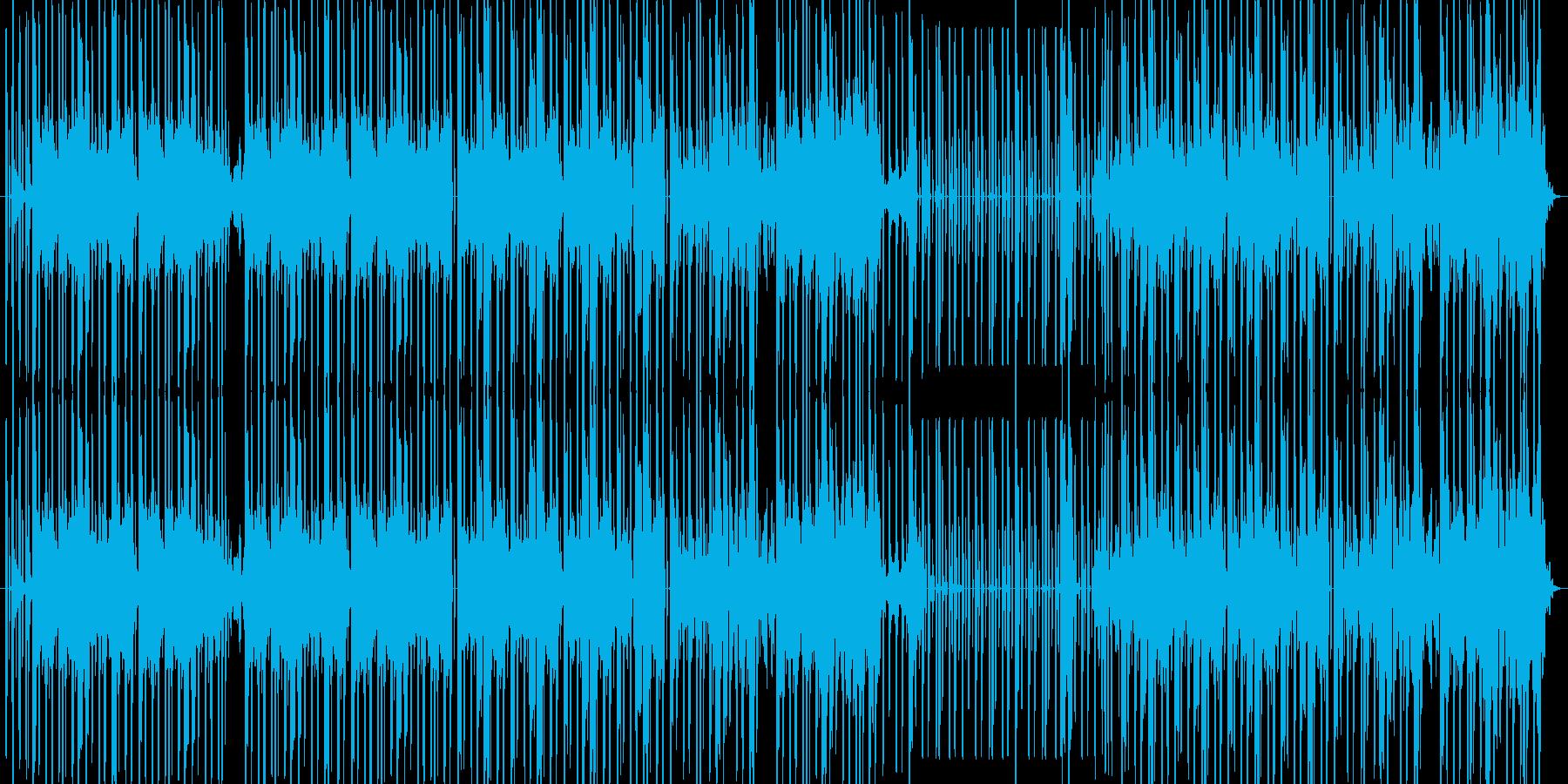 尺八と童謡が特徴的な怪しげなヒップホップの再生済みの波形